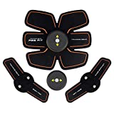 EMS 腹筋ベルト-Deyard EMS 腹筋マシーン9段階調節 腹筋トレーニング ダイエット男女兼用 超軽量 静音 多機能トレーニング器具 USB充電式