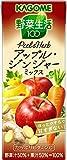 カゴメ 野菜生活100 Peel&Herb アップル・ジンジャーミックス 200ml×24本