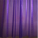 Adwaita 3D Crystal Pattern Mildew Free EVA Bathroom Shower Curtain Liner-Eco Friendly, No Mildew, No Odors, No Chemicals(Purp