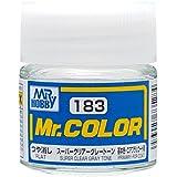 Mr.カラー C183 スーパークリアー グレートーン つや消し