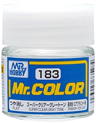 クレオス Mr.カラー C183 スーパークリアーグレートーン