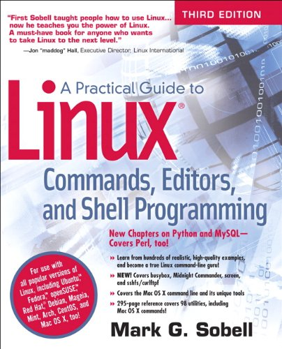 Download A Practical Guide to Linux Commands, Editors, and Shell Programming (3rd Edition) 013308504X