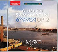 ジュゼッペ・サンマルティーニ:7つのパートの合奏協奏曲 Op.2