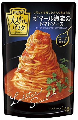 ハインツ 大人むけのパスタオマール海老のトマトソーススープ仕立て180g×4袋