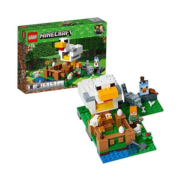 レゴ(LEGO) マインクラフト ニワトリ小屋 ...の商品画像