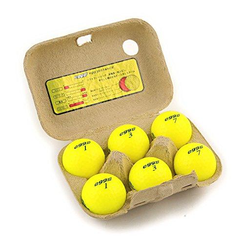 プロギア egg NEW egg ディスタンス ボール 半ダース 半ダース(6個入り) イエロー