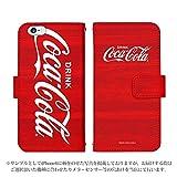 iPhone7 Plus 手帳型 ケース [デザイン:D.ビックロゴ(ウッド)] コカ・コーラ その他ケース スマホ スマートフォンカバー