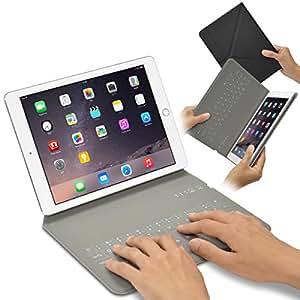 """iPad Air/Air2&Pro 9.7インチ 用 カバー&キーボード Bookey© smart (ブラック) 保護カバーとキーボードが今ひとつに!! iPad Air・iPad Air2・iPad Pro 9.7"""" 対応【JTT Online】技適認証済"""