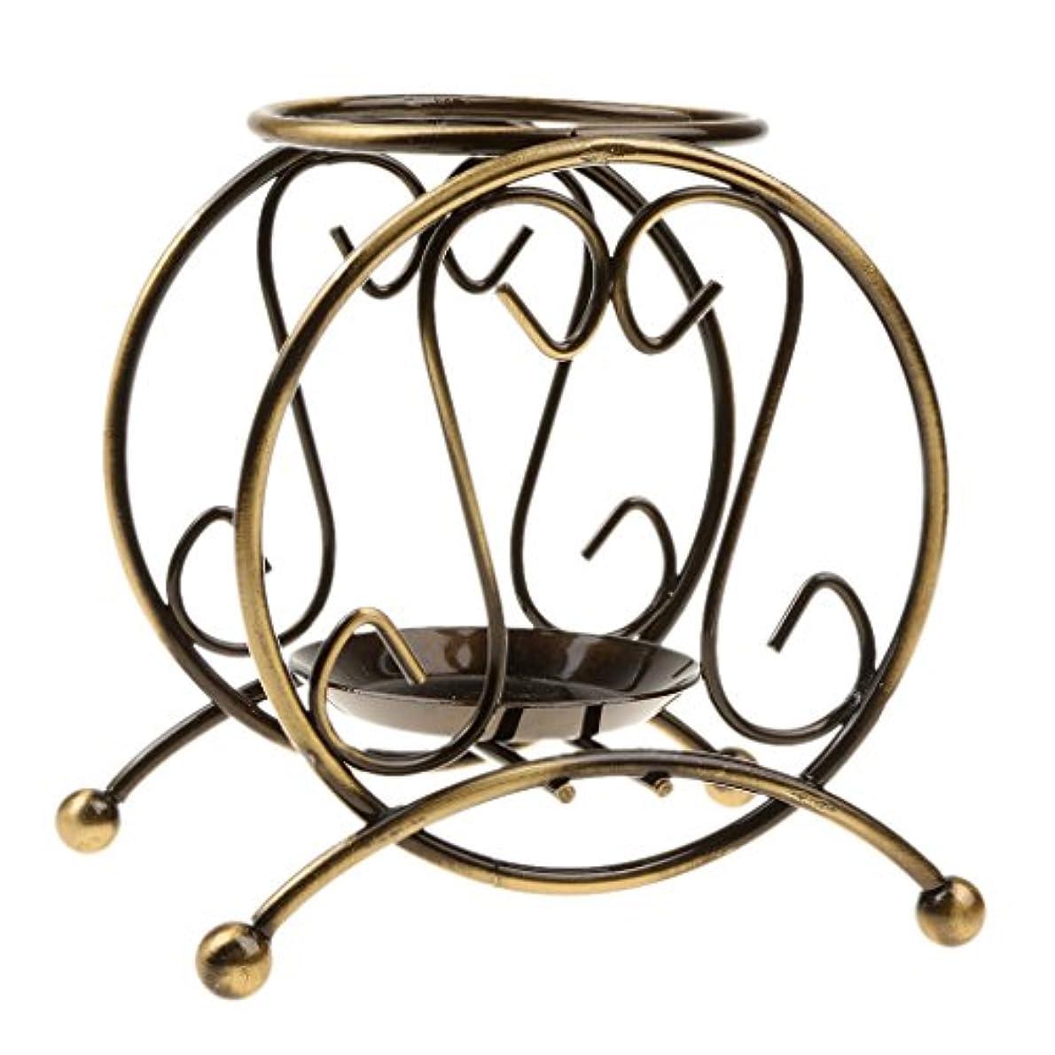 おばさん東ティモールコンパクトシャルキャンドルオイル ヒーター アコースティック バーナー 全9タイプ 金属 芳香剤 装飾 - 様式1