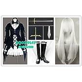 コスプレ衣装+ウィッグ+靴+道具 武器 剣 ローゼンメイデン Rozen Maiden 水銀燈 cosplay