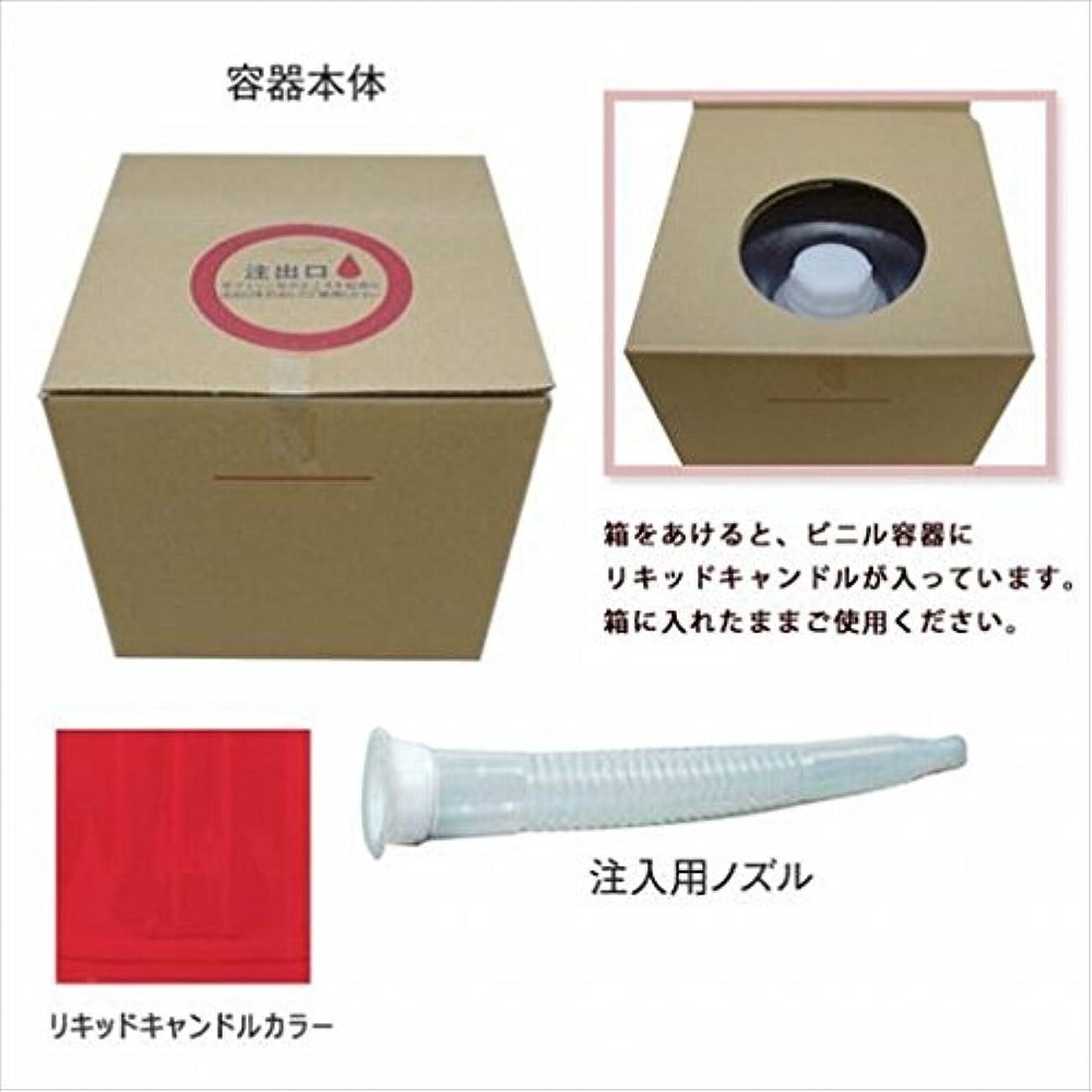 冷淡な追い出す超えるカメヤマキャンドル( kameyama candle ) リキッドキャンドル5リットル 「 レッド 」