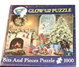 Bits &Pieces 1000 Piece Glow In the Dark Christmas Puzzle - Not a Creature was Stirring by Nicky Boehme by Bits &Pieces [並行輸入品]