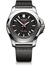 Victorinox Swiss Army i.n.o.x. Watch Black I.N.O.X. Leather