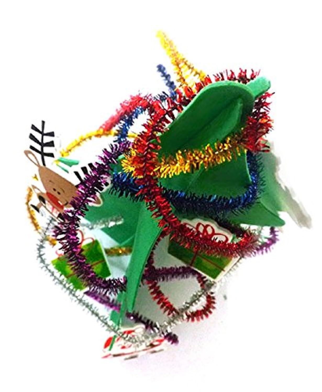 DEESEE ( TM )子供の教育玩具Eva Assembledバージョンのクリスマスツリー