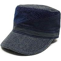 (グレース) 【grace】 SLANT WORK CAP 大きいサイズ対応 切替え ワークキャップ パッチワーク サイズ調節可