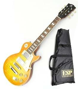 GrassRoots / ESP ( グラスルーツ ) アンプ内蔵レスポール! GR-LP-30S/M VHB ( ビンテージハニーバースト ) レスポールタイプ アンプ内蔵ミニギター! ESPロゴ入りギグバッグ付