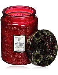 Voluspa ボルスパ ジャポニカ グラスジャーキャンドル L ゴージ&タロッコオレンジ JAPONICA Glass jar candle GOJI & TAROCCO ORANGE