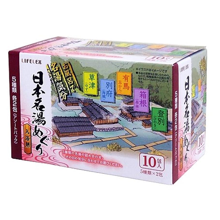 港不注意ディスココーナンオリジナル 日本名湯めぐり 25g×10包 KOT15ー9118
