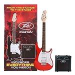 PEAVEY エレキギター 初心者入門ベーシックセット Raptor Plus Stage Pack (レッド)