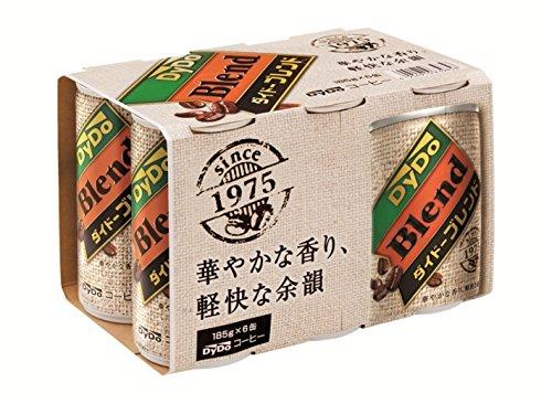 ダイドーブレンド ブレンドコーヒー6缶パックグッズ付 185X30