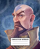 Composition Notebook: The Last Airbender Aang Katara Sokka Drawing Photo Artwork Soft Glossy Wide Ruled Composition Notebook with Ruled Lined Paper for Taking Notes Writing Workbook for Teens and Children Students School Kids