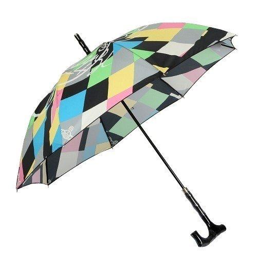 【Vivienne Westwood】ヴィヴィアンウエストウッド ハーレクイン 婦人長傘(雨傘) 黒