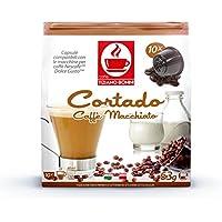 ドルチェグスト専用互換カプセル コルタド Cortado Caffe Macciato カフェ・マキアート 本場イタリアンエスプレッソ カップに氷を入れて抽出するとアイスカフェマキアートの出来上がり。同時に複数個のご注文でも送料は同じ1送料分です。