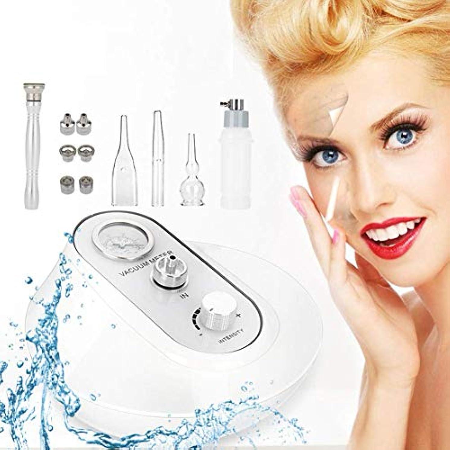 恐れる絶壁ハードダイヤモンドマイクロダーマブレーション皮膚剥離機抗シワそばかす除去エクスフォリエーター肌の若返り美容機