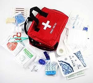 救急セット ファーストエイドキット 緊急応急セット 防災セット 救急箱 応急処置22種類72セット 学校 アウトドア 旅行 非常時用