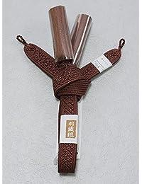 男性用の正絹羽織紐 平組みの羽織紐 男性用和装小物 Z0377-04