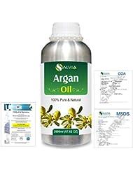 Argan (Argania spinosa) 100% Natural Pure Essential Oil 2000ml/67 fl.oz.