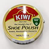 キィウィ 油性靴クリーム 無色 【KIWI SHOE POLISH】 45ml (多少難あり)