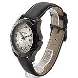 (ウェンガー) WENGER メンズ時計 WEN70474 ALPINE グリーンカワ グリーン × ブラック [並行輸入品]