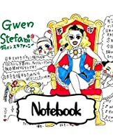 "Notebook: Gwen Stefani American Singer No Doubt Music Band R&B, Electro, And J-pop, Large Notebook for Drawing, Doodling or Writting: 110 Pages, 7.5"" x 9.25"". Kraft Cover Notebook ( Blank Paper Drawing and Write Notebooks )"