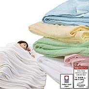 厂家直销 今治毛巾毯 日本制造 素色 绒毛不易脱落 可洗 棉斜纹织 今治毛巾品牌认证
