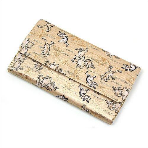 茶道具 懐紙入れ 袱紗ばさみ 三つ折 交織
