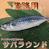 釣りサバ  アイスランド産 鯖  まるごと1尾 約600g