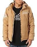 (ガッチャ) GOTCHA ジャケット ポリスエード フード脱着 中綿 173G1702 キャメル Mサイズ