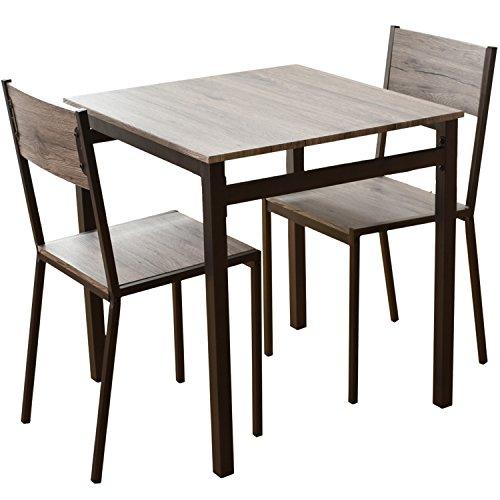 DORIS ダイニングテーブル 3点セット 幅70 テーブル...
