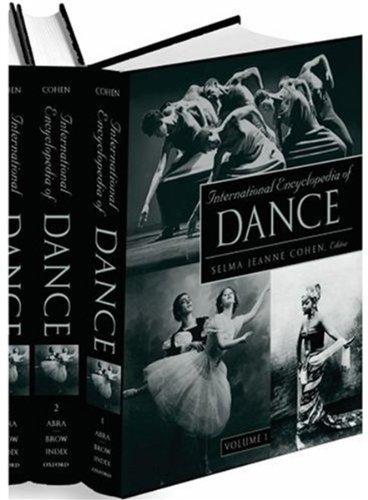 Download International Encyclopedia of Dance 0195173694