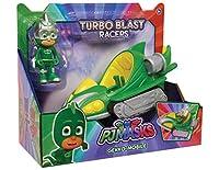PJ Masks Turbo Blast Racers Gekko-Mobile and Gekko Figure しゅつどう!パジャマスク ターボブラストレーサーズ ゲッコー & ゲッコーモービル [並行輸入品]