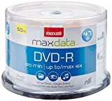 Maxell 638011 DVD-R 4.7gb Write-Once 16x Recordabl [オンデマンド(CD-R)]