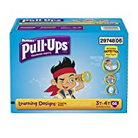 Pull-Ups Training Pants with Learning Designs for Boys, 3T-4T, 66 Count (Packaging May Vary) by Pull-Ups