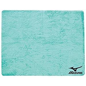 MIZUNO(ミズノ) スイムタオル 高吸水 セームタオル 85ZT75133 グリーン プール 水泳