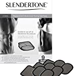 Slendertone Replacement Gel Pads for All Slendertone Abdominal Belts