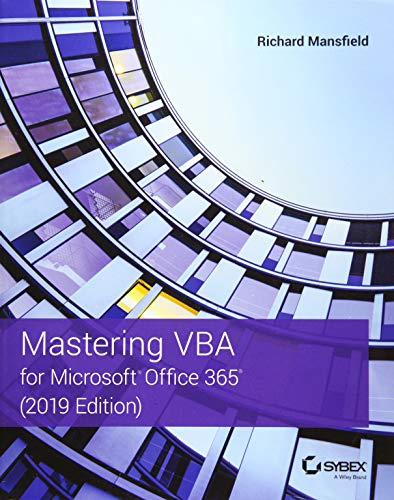 Download Mastering VBA for Microsoft Office 365 1119579333