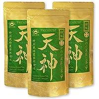かのや深蒸し茶 天神(てんじん)100g×3袋セット 農薬不使用 10日間被覆栽培 さえみどり 大井早生ブレンド