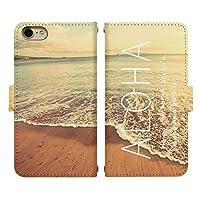 iPhone XR ベルト有り 手帳型 スマホケース スマホカバー di344(E) アロハ ハワイ ハワイアン 南国 リゾート アイフォン 10 アイホン テン スマートフォン スマートホン 携帯 ケース アイフォンXR アイフォンテンR アイフォン10R 手帳 ダイアリー フリップ スマフォ カバー