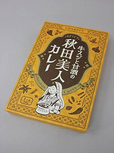 ノリット・ジャポン 秋田 UMAMY 牛すじと甘酒の秋田美人カレ-