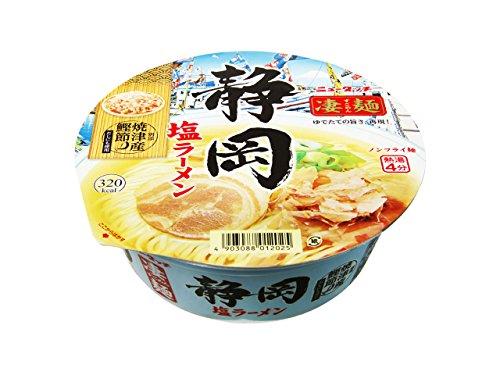 ヤマダイ ニュータッチ 凄麺 静岡塩ラーメン 105g×12個